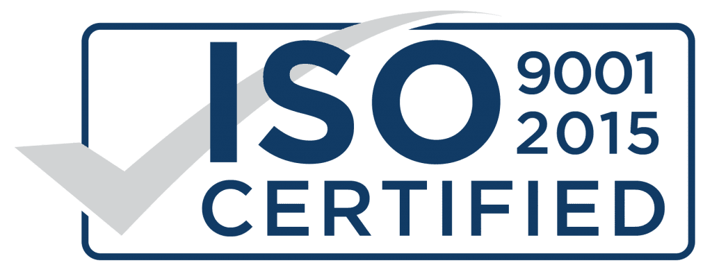 Solar testing and quality assurance - Solar Capture ISO 9001 2015 Certification Logo